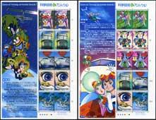 科学技術とアニメヒーローヒロインタイムボカン2種