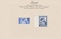 1948年ジョージ6世銀婚式記念切手コレクション
