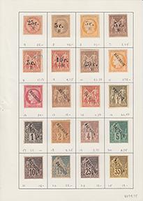 初期レユニオン島コレクション