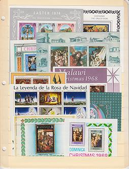 外国切手テーマ別コレクション