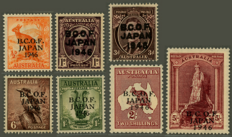 英連邦占領軍切手