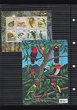 海外「鳥」切手コレクション