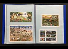 海外「動物」切手コレクション