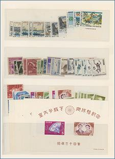 日本切手未使用処分ロット