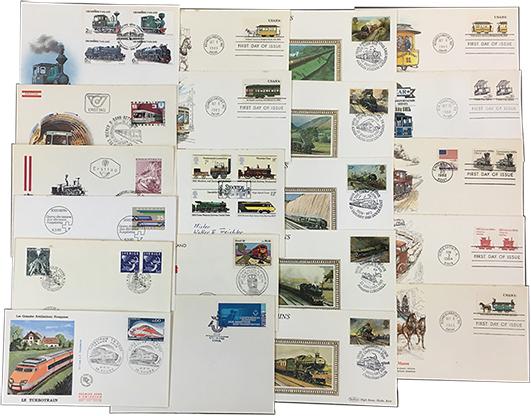 海外鉄道関連カバー21種