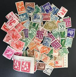 訳あり日本切手・売り切り特価品