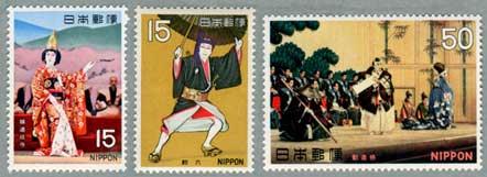 古典芸能シリーズ歌舞伎3種