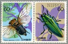 昆虫シリーズエゾゼミ・オガサワラタマムシ