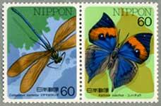 昆虫シリーズコノハチョウ・ミヤマカワトンボ