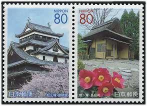 2001年松江城ペア