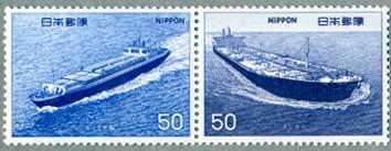 船シリーズ6集コンテナ船・タンカーペア
