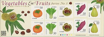 野菜と果物シリーズ1集50円