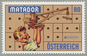 ヨーロッパ切手・昔のおもちゃ