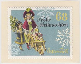 ヴィンテージ・クリスマス ロール切手