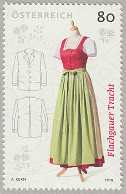 フラッハガウの民族衣装