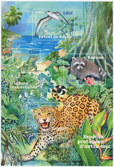 自然シリーズ 仏領の動物