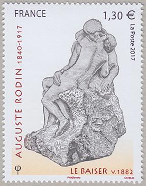 美術切手 オーギュスト・ロダン