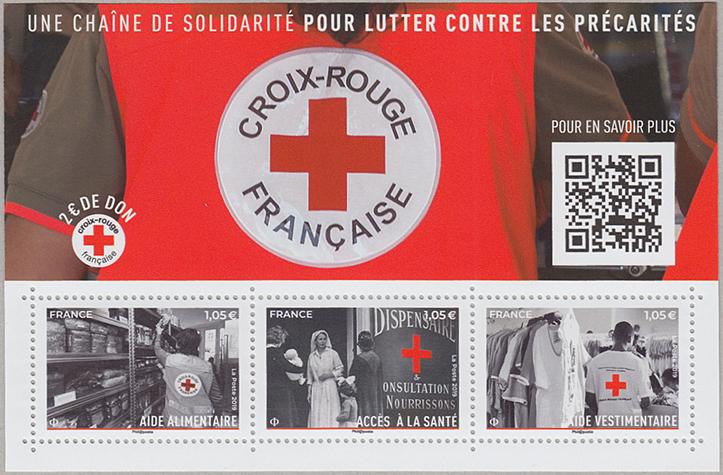 赤十字ミニチュアシート