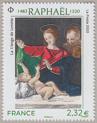 美術切手ラファエロ