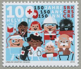 スイス赤十字150年
