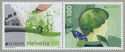 ヨーロッパ切手「エコロジー」