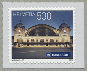 バーゼルSBB駅