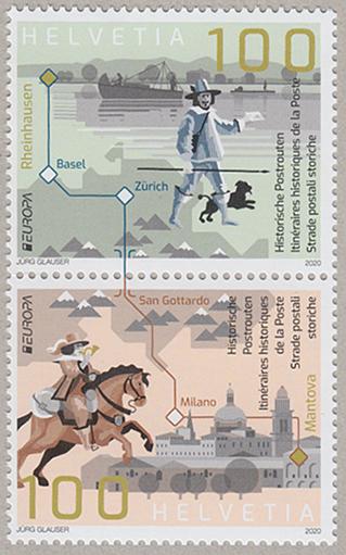 ヨーロッパ切手