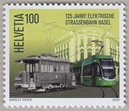 バーゼルの路面電車125年