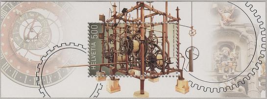 時計塔 小型シート