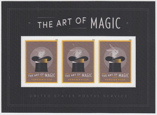 マジック芸術小型シート
