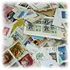 外国切手使用済ミクスチャー