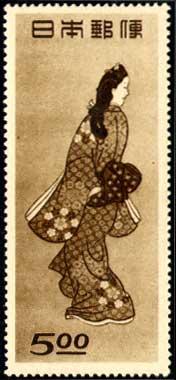 1948年切手趣味週間「見返り美人」