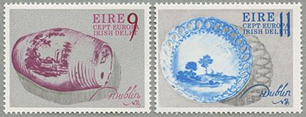 1976年ヨーロッパ切手2種