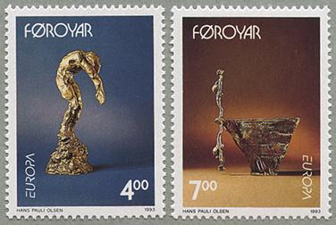 1993年ヨーロッパ切手2種