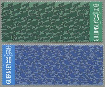 1995年ヨーロッパ切手2種