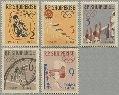 1963年東京オリンピック5種