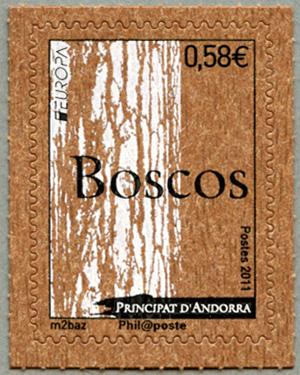 アンドラ(仏管轄) 2011年ヨーロッパ'11森林