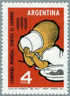 アルゼンチン1963年FAOキャンペーン