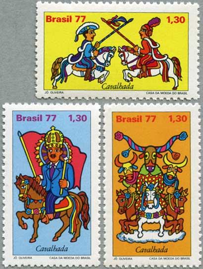 ブラジル1977年民間伝承3種