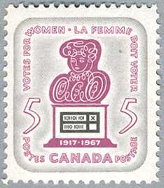 カナダ1967年女性選挙権50年