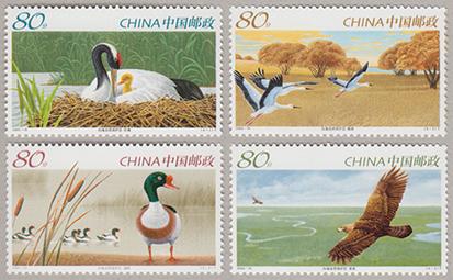 向海自然保護区4種(2005-15T)