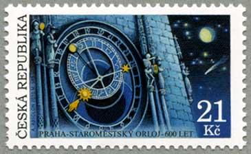 チェコ共和国2010年プラハ天文時計600年