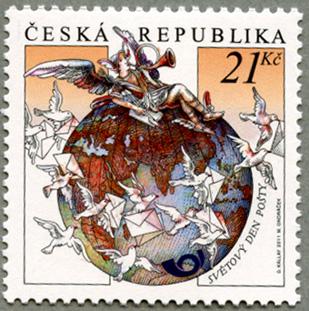 チェコ共和国2011年切手の日