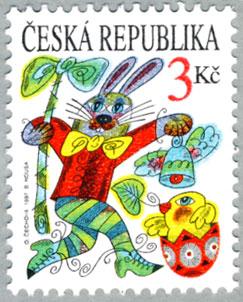 チェコ共和国1997年イースター