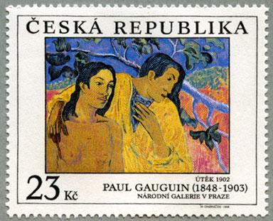 チェコ共和国1998年ポール・ゴーギャンの作品
