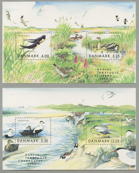 渡り鳥 小型シート2種