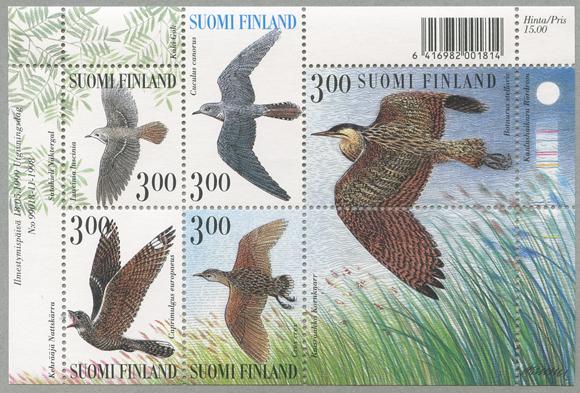 鳥 小型シート
