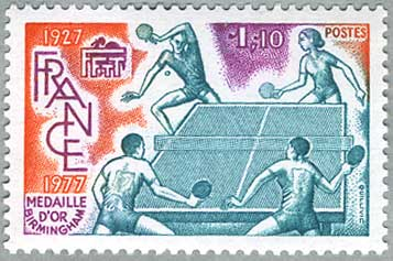 フランス1977年世界卓球選手権大会優勝