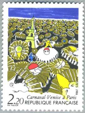 フランス1986年 カーニバル