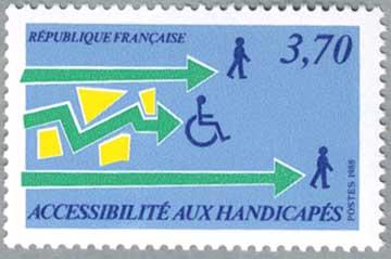 フランス1988年身障者に親近感を